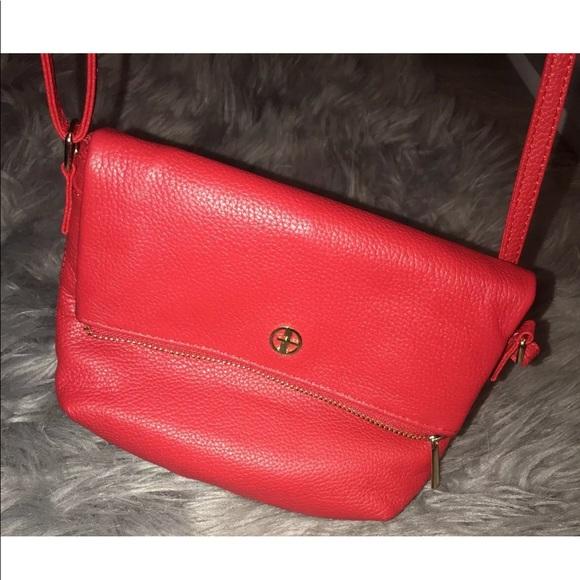 998f29a27 Giani Bernini Handbags - NWOT Designer Giani Bernini Leather Softy Core Red